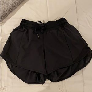 Lululemon black shorts